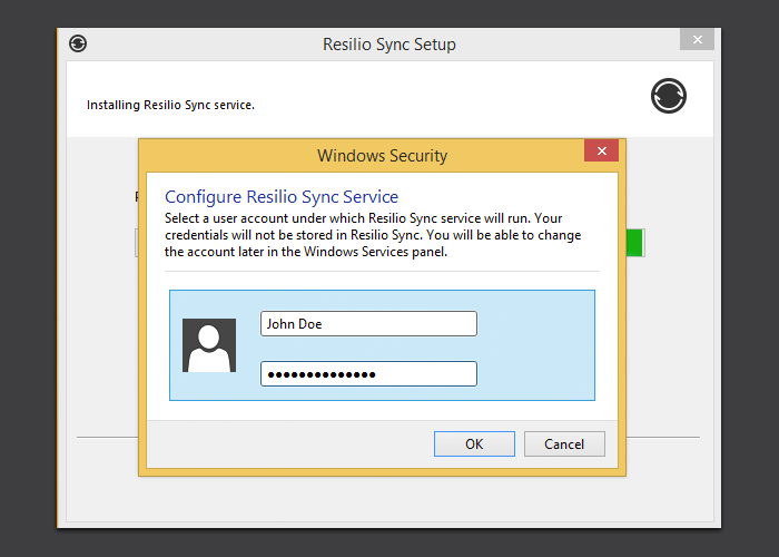 Running Sync as a service on Windows – Sync