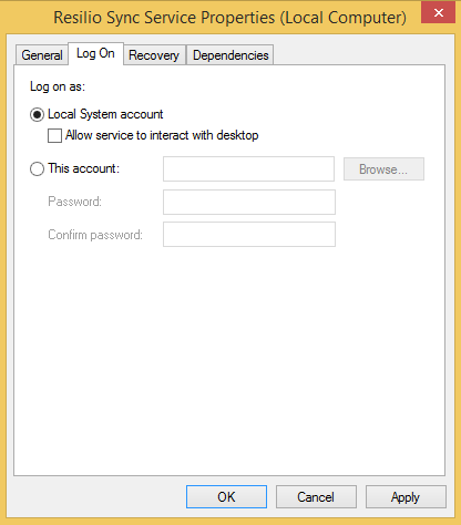 Sync Service Troubleshooting on Windows – Sync